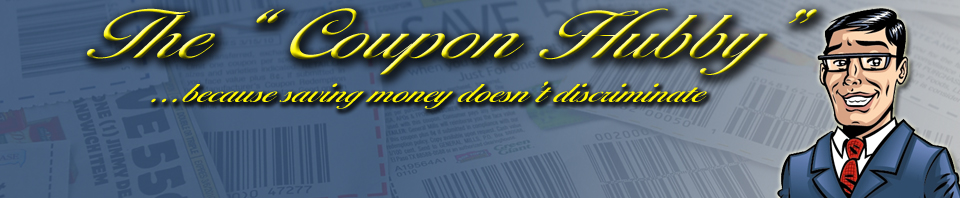 "The ""Coupon Hubby"" - Coupon savings for beginners and advanced shoppers"